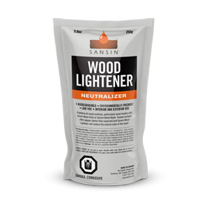 Sansin Wood Lightener
