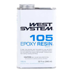 West System 105 Epoxy Resin Half Pint