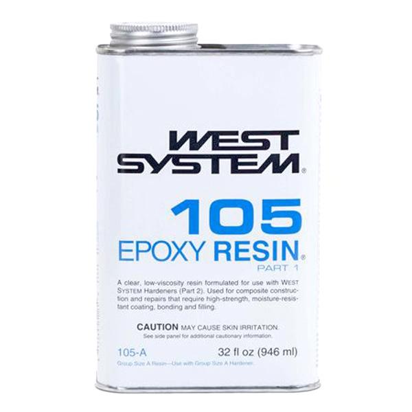 West System 105 Epoxy Resin Half Pint