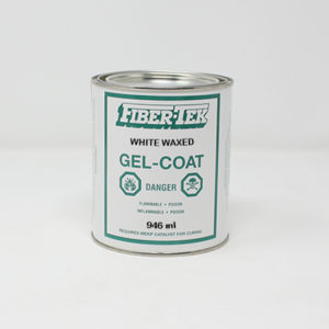 Fiber-Tek White Waxed Gelcoat