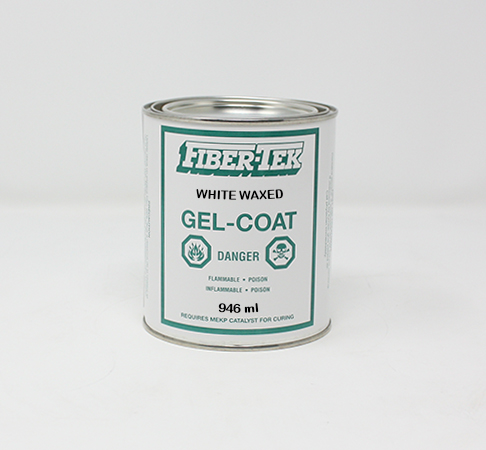 Fiber-Tek White Waxed Gelcoat