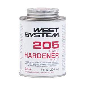 West System 205 Fast Hardener Half Pint