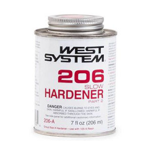 West System 206 Slow Hardener Half Pint