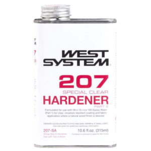 West System 207 Special Clear Hardener Pint